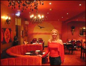 View Source | More Indian Restaurant Interior Design